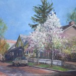 Zionsville in Spring: Teahouse""